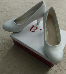 Fehér színű alkalmi cipő
