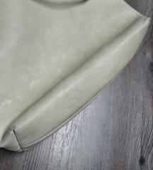 Strasszos szegecses beige táska