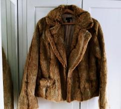 H&M rövid szőrme kabát S-M