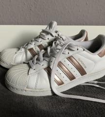 Adidas superstar rose gold 37 1/3