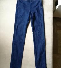Oldalt zipzáros magasderekú H&M skinny jeans