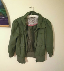 Khaki zöld átmeneti dzseki (40)