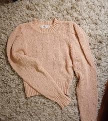 Zara crop pulóver