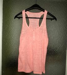 Neon rózsaszín gombos trikó