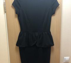 Fekete peplumos nagyon csinos ruha