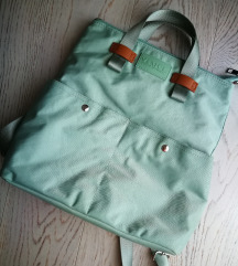 Menta színű táska