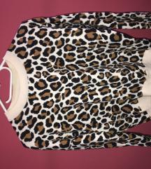 Állat mintás H&M meleg pulóver