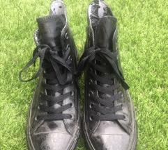 Converse középmagas szárú fekete tornacipő
