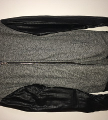 S/M férfi zipzáras pulcsi