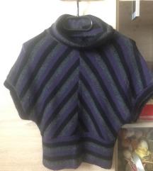 Meleg garbós pulóver/mellény