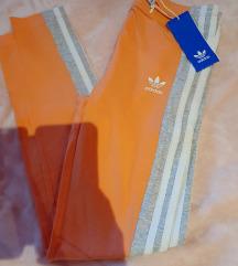 Barack színű Adidas nadrag