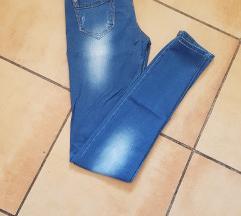 Skinny Kék női farmer - ELADVA