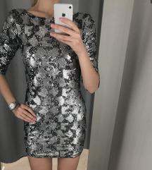 Új, címkés flitteres ruha