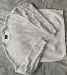 Fehér Zara pulóver