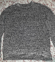 New yorker fekete kotott pulóver SM, Budapest gardrobcsere.hu