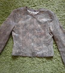 Kígyóbőr kabát