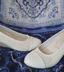 Fehér bőr madeira topán