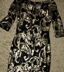 arany flitter ruha