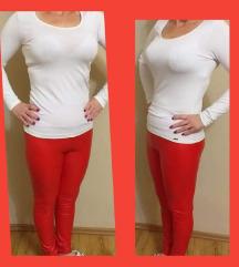 Piros bőrnadrág M/L, L/XL