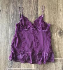 Zara lila top