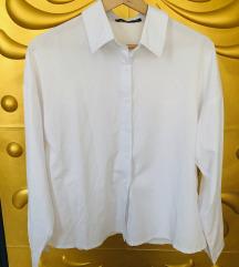 BOOHOO Feliratos fehér ing