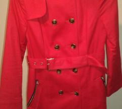 F&F piros női kabát