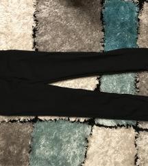 Új!Összerántós fekete leggings