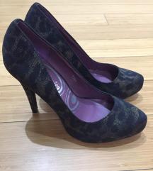 Leopárd mintás Női magassarkú cipő 0d82ae9184