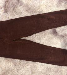 Pull&Bear bordó kordbársony nadrág