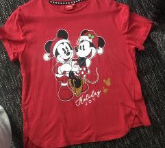 Piros mickey póló