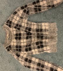 Tezenis meleg őszi kockás pulóver