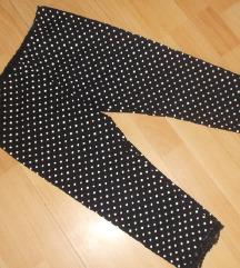 Pöttyös pamut francia  leggings, térdnadrág