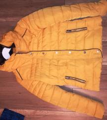 Mustár sárga dzseki