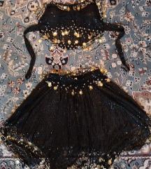 Fekete hastánc ruha