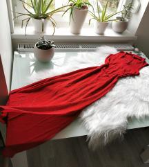 Vintage piros ruha S ❤️