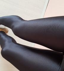 Extra fényes fekete leggings + ajándék