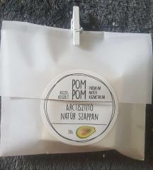 Új avokádós vegán natúr arctisztító szappan