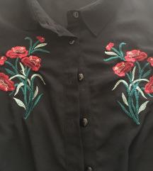 Hímzett, enyhén áttetsző ing