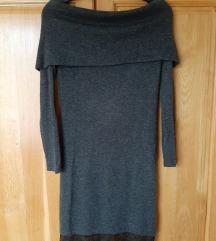 Ejtett vállú csipkés Orsay ruha
