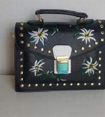 Vagány táska, hímzett