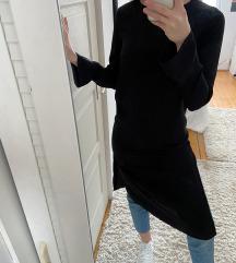 H&M hosszú fekete felső