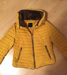 ZARA mustársárga kabát