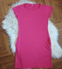 Pink pólóruha