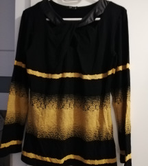 Felső sárga fekete