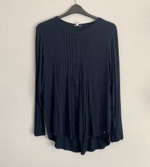 női kék ing blúz