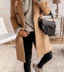 Zara gyapjú szövet kabát