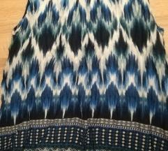 Orsay 36-os kék, nyári blúz