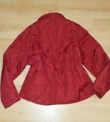 Hibátlan piros H&M dzseki L