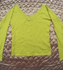 sárga / mustár színű pulcsi