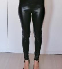 Műbőr magasderekú leggings (36-os méret)